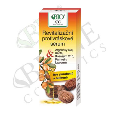 Bione Cosmetics Revitalizační protivráskové sérum Arganový olej + Karité 40 ml