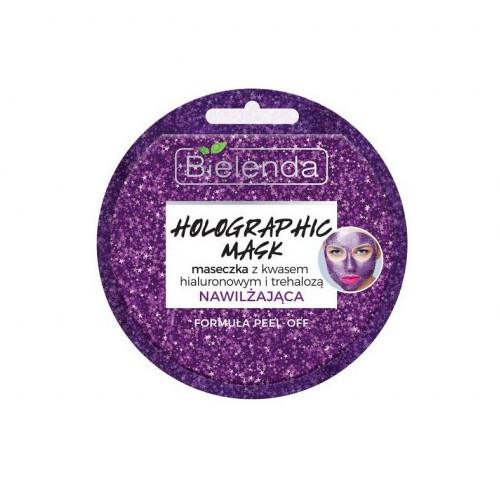Bielenda Slupovací maska Holographic Mask (Moisturizing Face Mask With Hyaluronic Acid And Trehaloze) 8 g