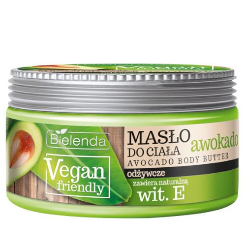 Bielenda Tělové máslo Vegan Friendly (Avocado Body Butter) 250 ml