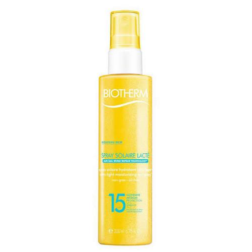 Biotherm Tělo vý sprej na opaľovanie SPF 15 Spray Solaire Lacto ( Ultra Light Moisturizing Sun Spray) 200 ml