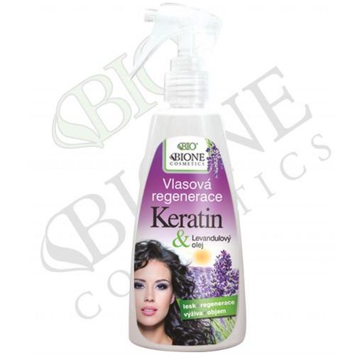 Bione Cosmetics Vlasová regenerace s Keratinem Levandule 260 ml