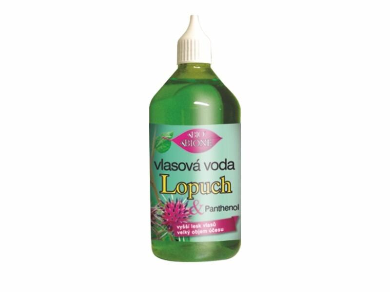 Bione Cosmetics Vlasová voda Lopuch 215 ml