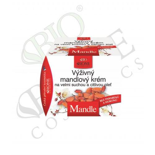 Bione Cosmetics Výživný krém na suchú a citlivú pleť Mandle 51 ml