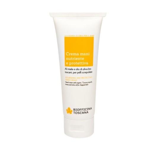 Biofficina Toscana Vyživující a ochranný krém na ruce (Nourishing And Protective Hand Cream) 75 ml