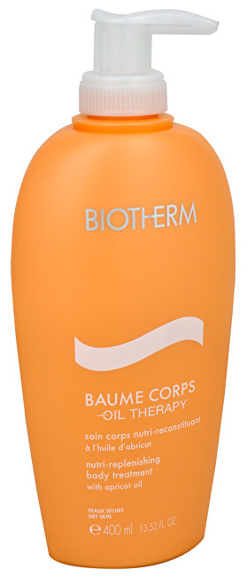 Biotherm Vyživující tělové mléko pro suchou pleť Baume Corps Oil Therapy (Nutri-Replenishing Body Treatment) 400 ml