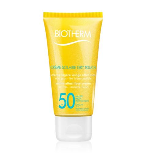 Biotherm Zmatňující pleťový krém na opalování SPF 50 Créme Solaire Dry Touch (Matte Effect Face Cream) 50 ml