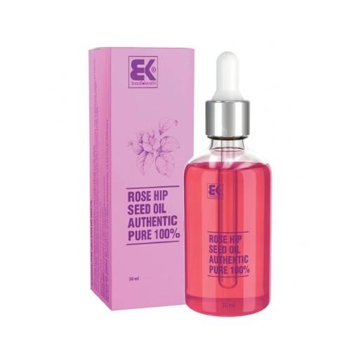 Brazil Keratin 100% čistý za studena lisovaný přírodní šípkový olej (Rose Hip Seed Oil Authentic Pure) 50 ml