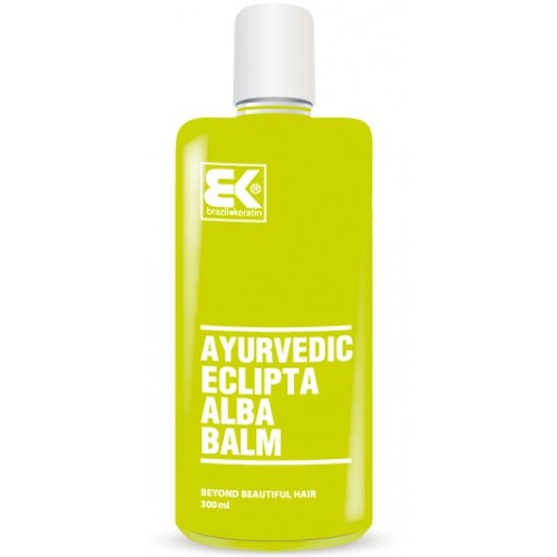 Brazil Keratin Balzám na vlasy s ajurvédskou bylinou (Ayurvedic Eclipta Alba Balm) 300 ml