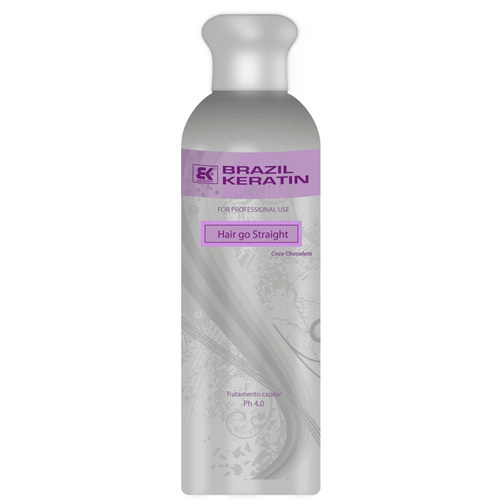 Brazil Keratin Brazilský keratin Hair go Straight 150 ml