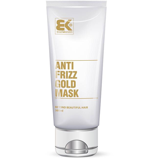 Brazil Keratin Maska s keratinem proti krepatění vlasů (Anti Frizz Gold Mask) 285 ml
