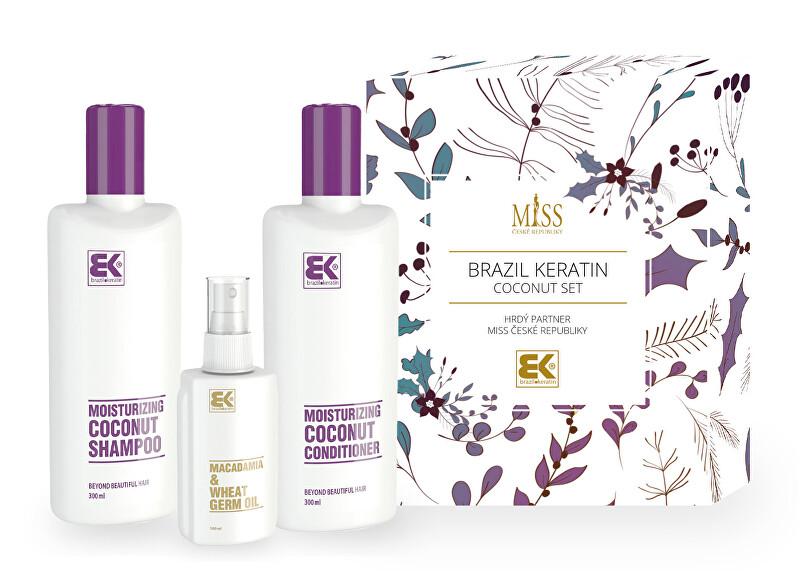 Brazil Keratin Kozmetická sada vlasovej starostlivosti Miss Coconut Set