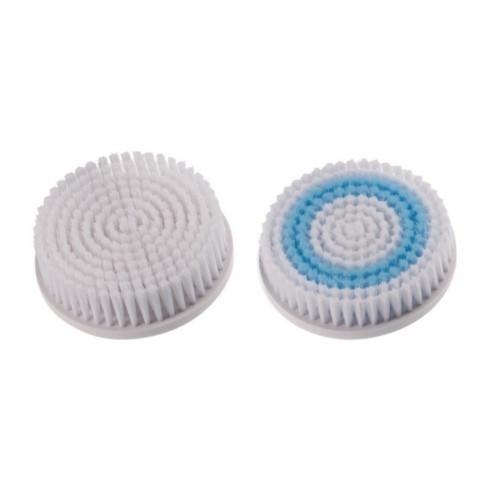Bellissima Náhradná sada 2 čistiacich kefiek pre Rotačný vibračný prístroj na revitalizáciu pokožky tela 5100 (Refill Kit 5153 Imetec)