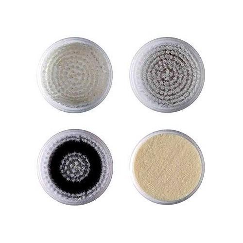 Bellissima Náhradní sada 4 hlavic pro Sonický vibrační přístroj k ošetření a revitalizaci pleti 5057 (Refill Kit 5040 Imetec)