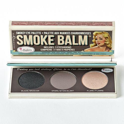TheBalm paletka očních stínů Smoke Balm 10.2 g