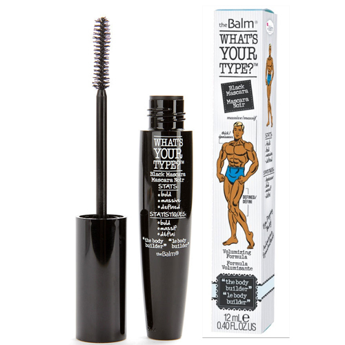 TheBalm Řasenka pro objem What`s Your Type- Body Builder Black 12 ml