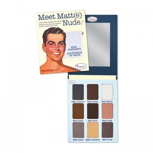 theBalm Paleta očních stínů Meet Matt(e) Nude 25,5 g