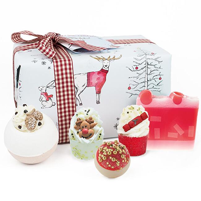 Bomb Cosmetics Darčeková sada šumivých bômb Jeleň Creature Comforts (Gift pack)