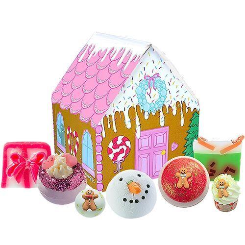 Bomb Cosmetics Darčeková sada Perníková chalúpka (The House of Sugar & Spice Gift Set)
