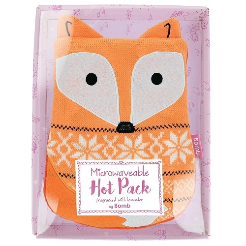 Bomb Cosmetics Nahřívací polštářek Liška Freddie The Fox (Heating Pad)