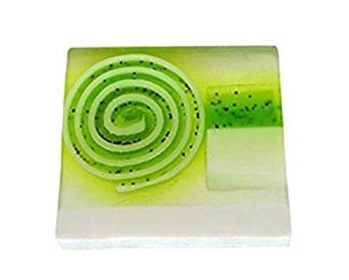 Bomb Cosmetics Ručně vyráběné gycerinové mýdlo Limetkový švihák (Soap Lime Dandy) 100 g