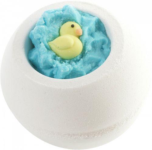 Bomb Cosmetics Šumivá koupelová bomba Ošklivé kačátko (Bath Blaster ø 7,5 cm) 150 g