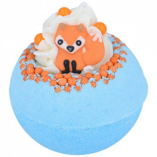 Bomb Cosmetics Šumivá koupelová bomba Foxy Loxy (Bath Blaster ø 7,5 cm) 160 g