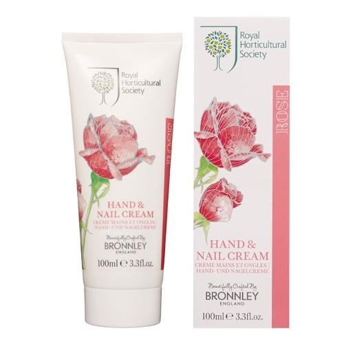 Bronnley Vyživujúci krém na ruky a nechty s romantickou vôňou ruží (Hand & Nail Cream) 100 ml