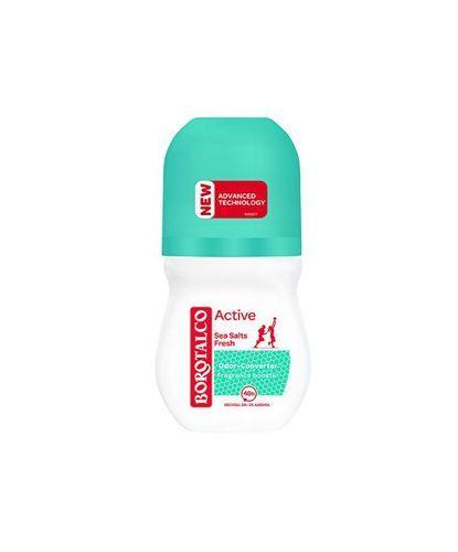 Borotalco Kuličkový deodorant mořská sůl Active (Sea Salt Fresh) 50 ml
