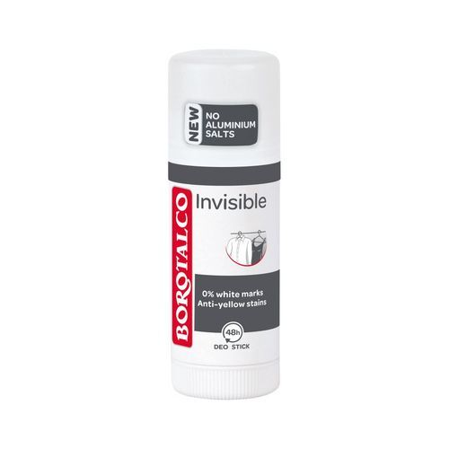 Borotalco Tuhý dezodorant Invisible 40 ml