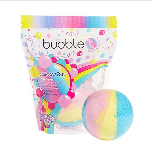 Bubble T Cosmetics Šumivá koupelová bomba ovoce (Bath Fizzer) 150 g