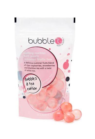 Bubble T Cosmetics Olejové kuličky do koupele ovoce (Bath Pearls) 25 x 4 g
