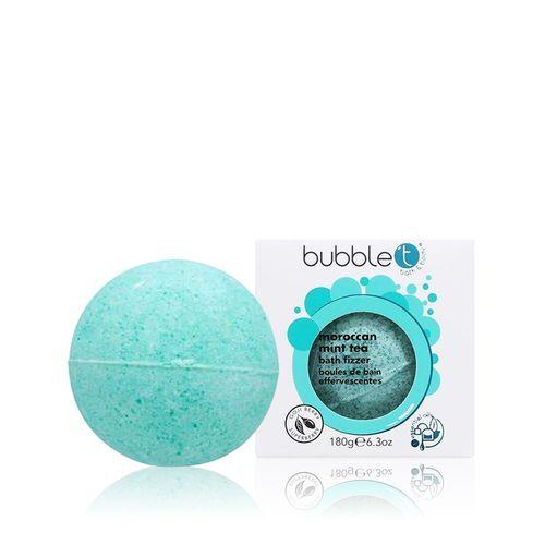 Bubble T Cosmetics Šumivá koupelová bomba marocká máta (Bath Bomb Fizzer) 180 g