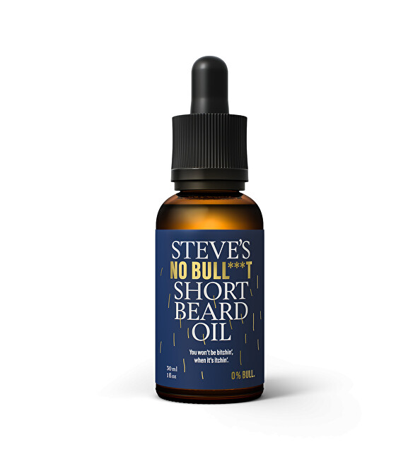 Steve´s Olej na krátke fúzy No Bull *** t (Short Beard Oil) 30 ml
