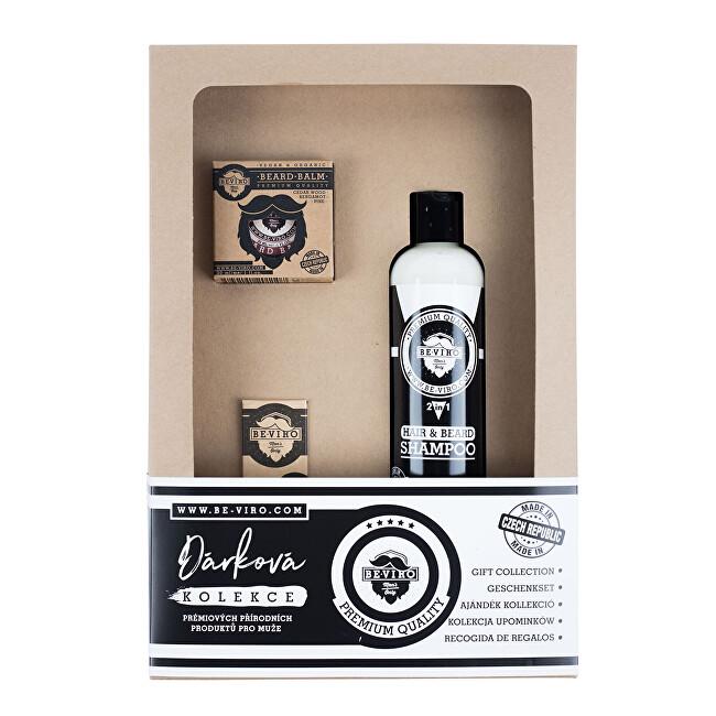 BE-VIRO Kosmetická sada pro muže s vůní cedru, bergamotu a borovice Bergamia Wood