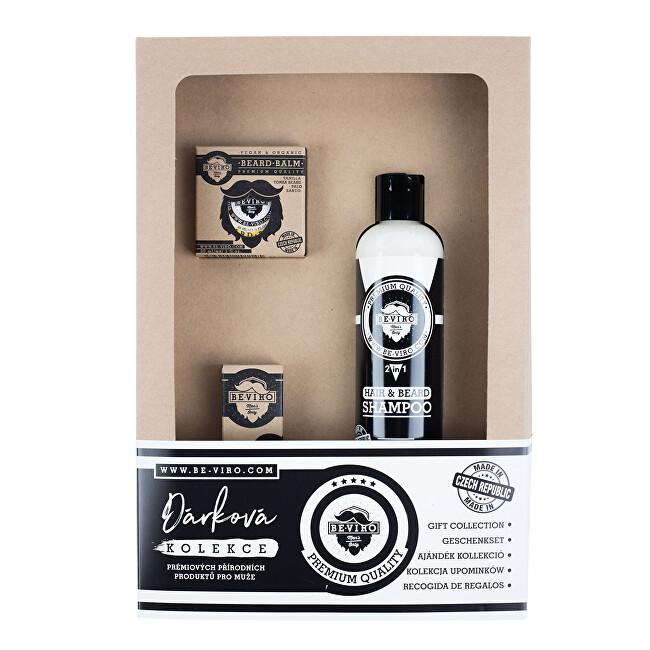 BE-VIRO Kosmetická sada s vůní vanilky, palo santo a tonkových bobů Honkatonk Vanilla