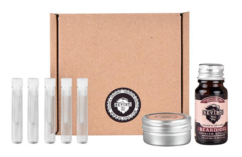 BE-VIRO Malý testovací set Cedr, borovice a bergamot