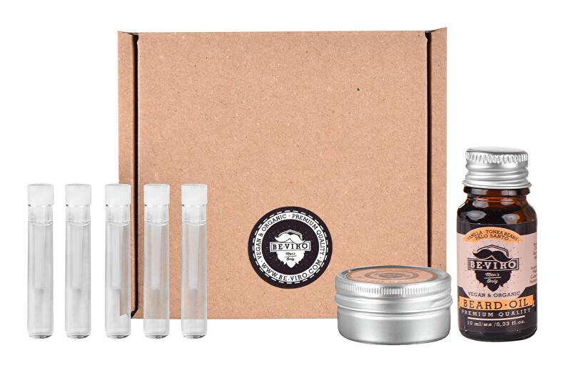 BE-VIRO Malý testovací set Vanilka, palo santo, tonkové boby