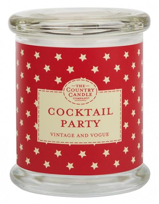 Country Candle Vonná svíčka ve skle s víčkem Koktejlová party (Cocktail party) 848 g