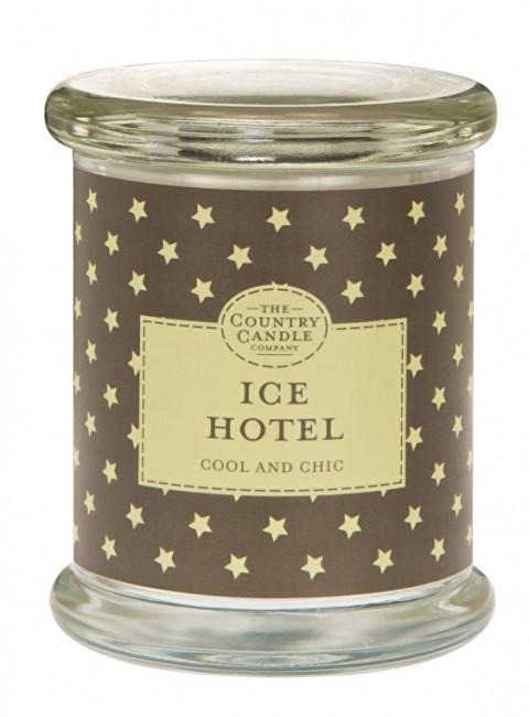 Country Candle Vonná svíčka ve skle s víčkem Ledový hotel (Ice Hotel) 848 g