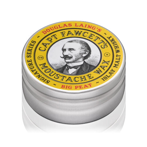 Captain Fawcett Vosk na knír Big Peat Islay Malt Whisky (Moustache Wax) 15 ml