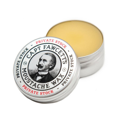 Captain Fawcett Vosk na knír Private Stock Moustache Wax 15 ml