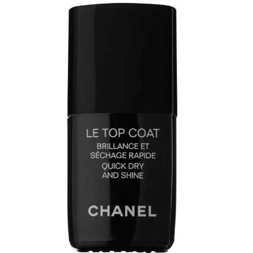 Chanel Vrchný ochranný lak na nechty s leskom Le Top Coat (Quick Dry And Shine) 13 ml