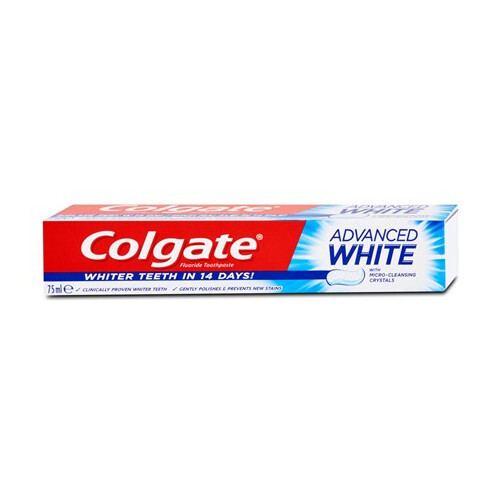 Colgate Bieliace zubná pasta Advanced Whitening 75 ml