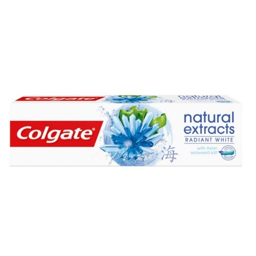 Colgate Bieliace zubná pasta Natura l s Extract Radiant White 75 ml