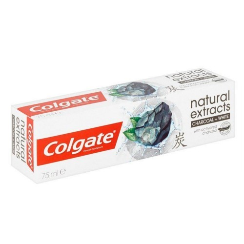 Colgate Bělicí zubní pasta s aktivním uhlím Naturals Charcoal 75 ml