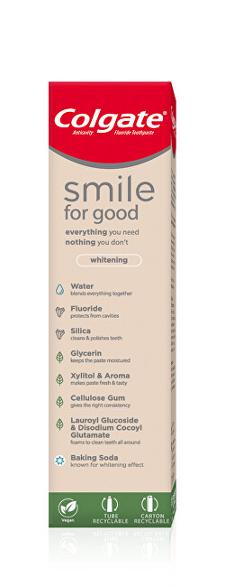 Colgate Bieliace zubná pasta Smile For Good Whitening 75 ml