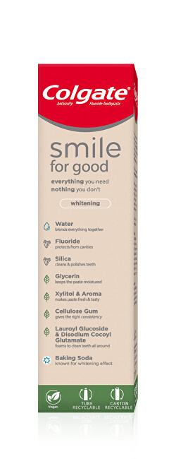 Colgate Bělicí zubní pasta Smile For Good Whitening 75 ml