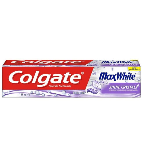 Colgate Zubní pasta Max White Shine Crystals 125 ml