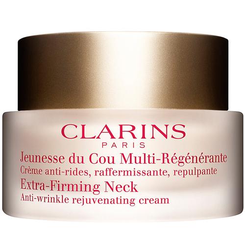 Clarins Obnovující krém proti vráskám na krk a dekolt Extra-Firming Neck (Anti-Wrinkle Rejuvenating Cream) 50 ml