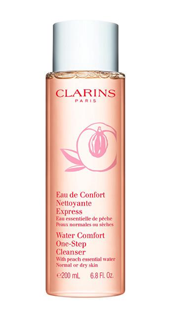 Clarins Expresní odličovač pro normální až suchou pleť (Water Comfort One-Step Cleanser) 200 ml